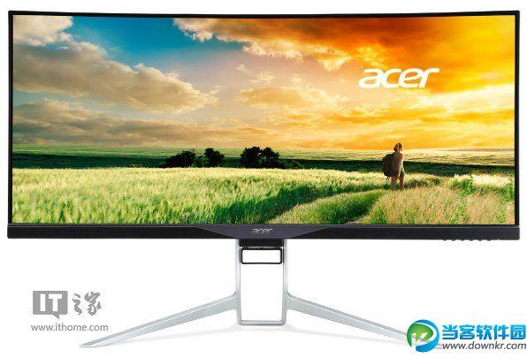 宏碁Acer宣布34英寸21:9曲面显示器:专注游戏
